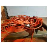 Extension cords, industrial and cord wrap holders