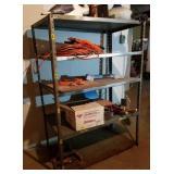 Metal shelf,  NO contents