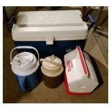 Coolers & liquid thermos