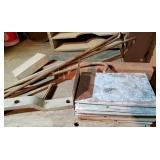 Iron, Aluminum, Galvinized pieces