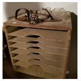 Sand paper storage box & small animal trap