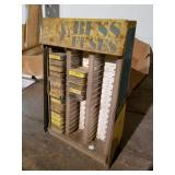 Buss fuse metal rack with fuses