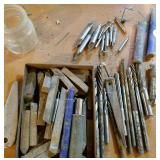 Reamers & lath cutting tools, center drills