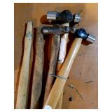 Ball Pean Hammer with 2 extra handles