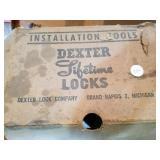 Dexter  tool for door knob installation