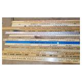 Advertising Yard Sticks, McGrady Furniture, Lowes