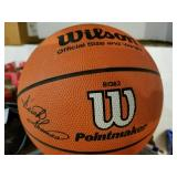 Wlson Basketball- signed by Steve Alford