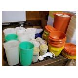 Tupperware containers & pitchers