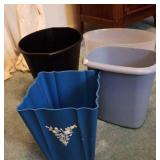 Plastic trash cans 4. Schwarz Bros - vintage