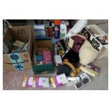 Cosmetic and beauty items, massager, pillows,