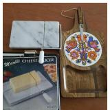 Cheese cutting boards  (2)