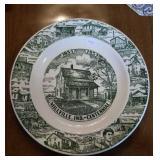 Millville Indiana centennial plate 1854 to 1954