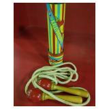 Vintage jump rope & Kaleidoscope