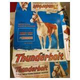 Thunderbolt horse for Johnny West