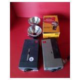 2 Kodak Instamatic Movie Cameras & flash