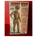 Johnny West Action Cowboy toy