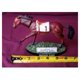 Hoosier Park collectable bobble head horse