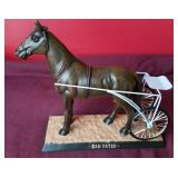 "2004 Hoosier Park Collectible ""Dan Patch"" horse"