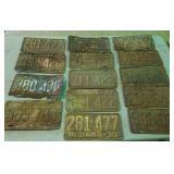 1930s & 1949s license plates