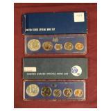 1966 & 1967 US Special Mint Sets