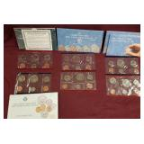 1989 &  2- 1991sets of Uncirculated Coin sets