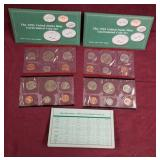 2 sets- 1993 US Mint Uncirculated coin sets
