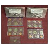 2 sets - 1996 US Mint Uncirculated coin sets