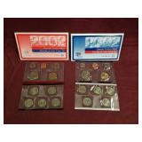2 sets - 2002 US Mint Uncirculated mint sets