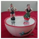 Vintage Magneto Dancing Music Box