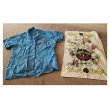 Vintage Ladies Bowling Shirt & Towel
