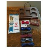 Belt Caddy, bow ties, dresser valet