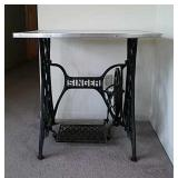 Vintage Singer Sewing Legs Table