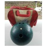 Columbia 300 bowling ball & Bag