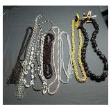 Beaded necklaces (10)