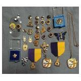 Lions Club pins