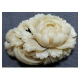 Antique carved Rose accent piece