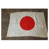 WW 2 era Japanese Silk flag