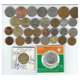 Foreign Coins & Uncirculated Token Coins