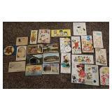 Vintage postcards & cards