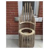 Tobacco Chair Planter
