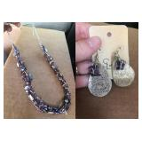 Necklace and Earring Set by SL Works