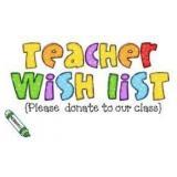$100 Teacher Wish List Donation