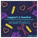 $50 Teacher Wish List Donation