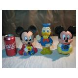 Vintage Mickey Mouse & Donald Duck Toys