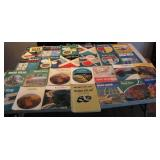 Lot of 27 Road Atlas 1950s-1970s