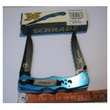 Scrade Timer-X Pocket Knife New In Box
