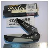 Scrade Badger Knife New In Box