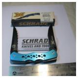 New Schrade Knife In Box