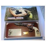 Billy The Kid Knife On Plaque New In Box