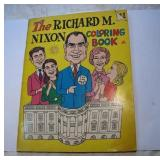 Vintage 1969 President Nixon Coloring Book